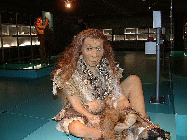 Neanderthal woman