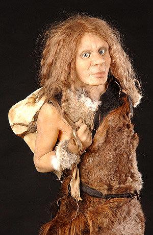 Neanderthal child